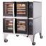Blodgett Oven HV100EDBL Combi Oven HydroVection Electric Full Size Double Stack