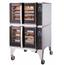 Blodgett Oven HV100GDBL Combi Oven HydroVection Gas Full Size Double Stack