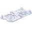 Cambro 30CWD135 Food Pan Drain Shelf 13Rd Size Clear