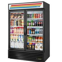 True Food Service Equipment GDM49HCTSL01 Glass Door Merchandiser ReachIn Refrigerator 2 Swing Doors 5413 Wide x 295 Deep x 7837 Height 54
