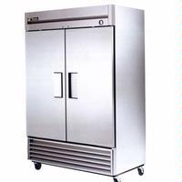 True Food Service Equipment T49FHC ReachIn Freezer 2 Doors T series 5413 Wide x 295 Deep x 7837 Height 4 Casters